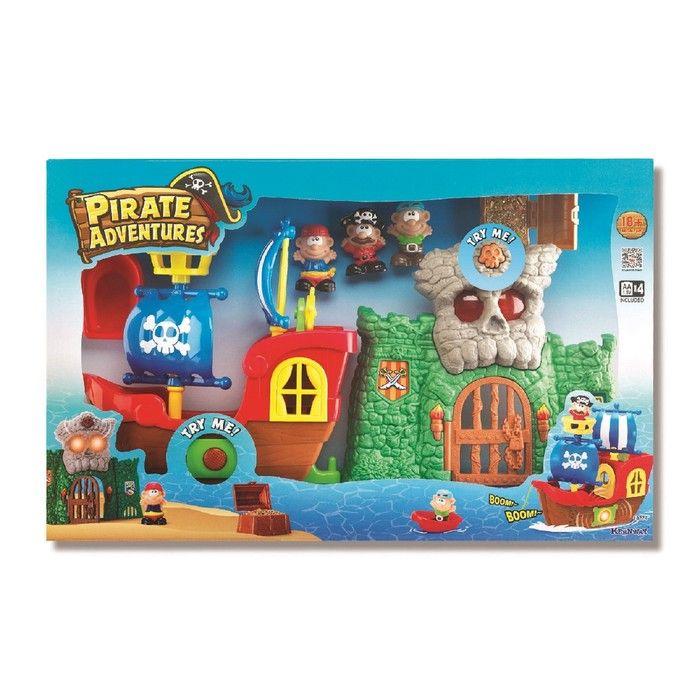 Игровой набор «Пиратские приключения», свет/звук