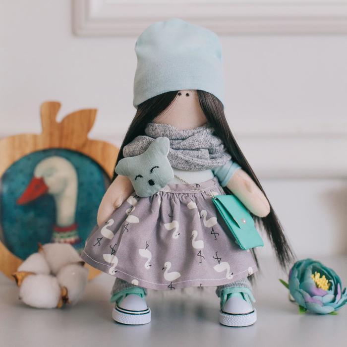 Мягкая кукла Лина, набор для шитья 15,6 × 22.4 × 5.2 см