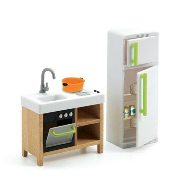 Мебель для кукольного дома «Кухня»