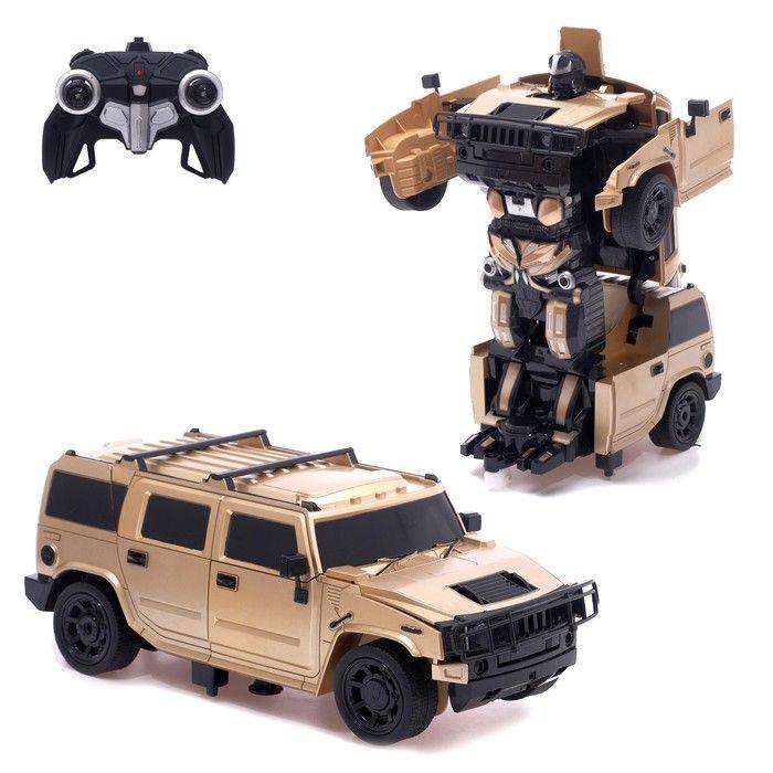 Робот-трансформер радиоуправляемый «Автобот», цвета в ассортименте
