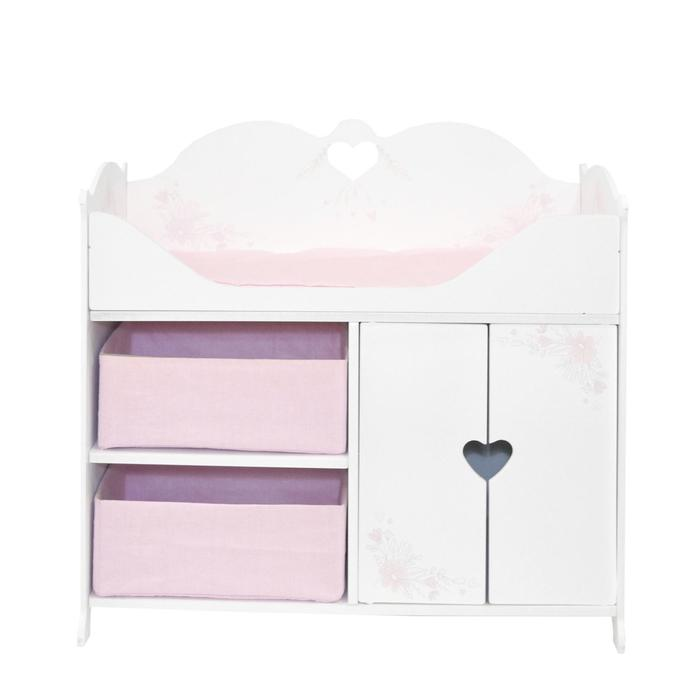 Кроватка-шкаф для кукол серия «Розали Мини», цвет Бьянка