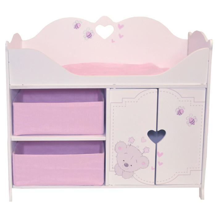 Кроватка-шкаф для кукол серия «Рони Мини», стиль 1
