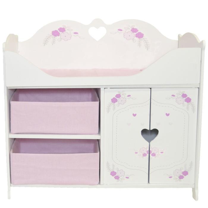 Кроватка-шкаф для кукол серия «Розали Мини», цвет Пастель
