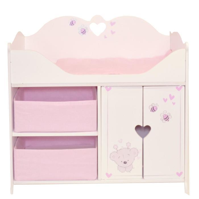 Кроватка-шкаф для кукол серия «Рони Мини», стиль 2
