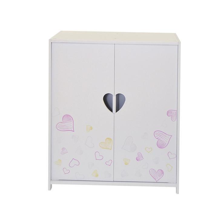 Шкаф серии «Любимая кукла» мини, цвет Дрим