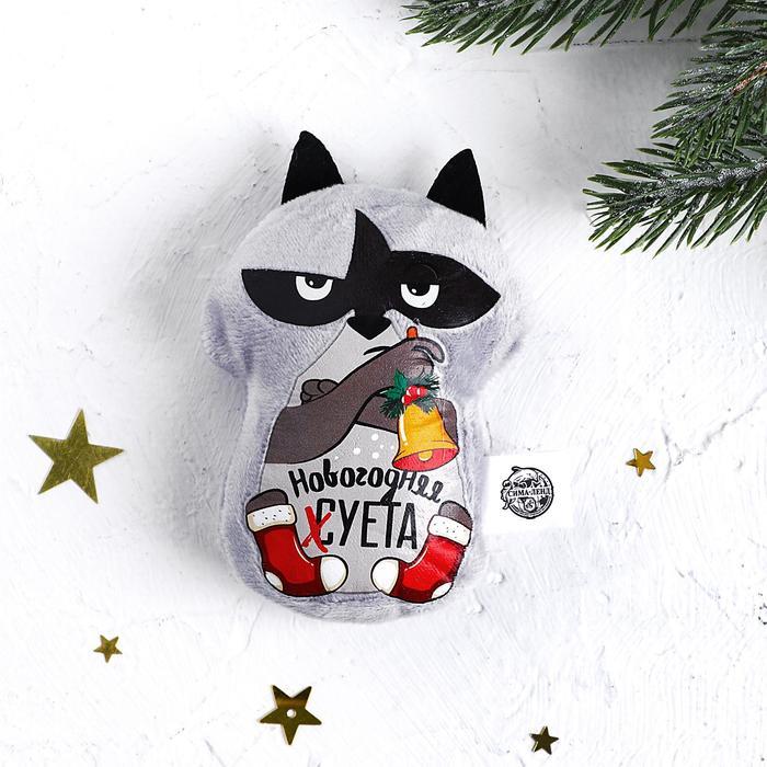 Мягкая игрушка-магнит «Новогодняя суета»