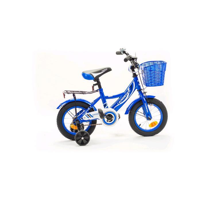 """Велосипед 12"""" KROSTEK WAKE, цвет синий"""