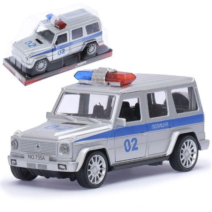 Машина инерционная «Полицейский Гелендваген»