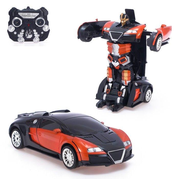 Робот-трансформер радиоуправляемый «Автобот», с аккумулятором, заряд от USB