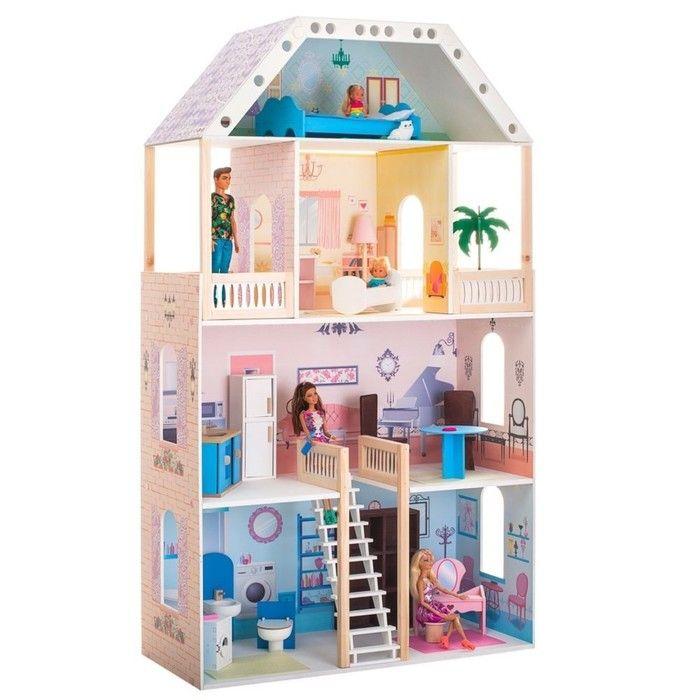 Кукольный домик «Поместье Риверсайд», с мебелью