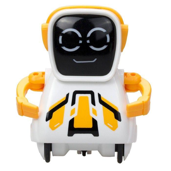 Робот «Покибот», жёлтый, квадратный