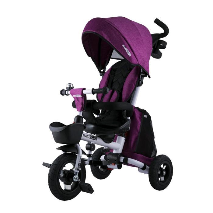 Велосипед трехколесный Maxiscoo, цвет розовый