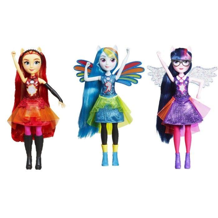Кукла интерактивная «Девочки Эквестрии»