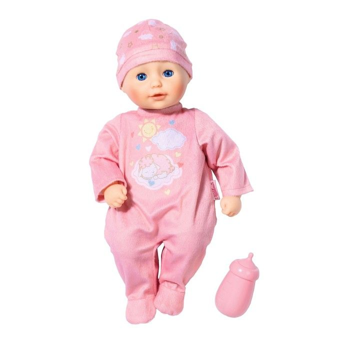 Кукла мягконабивная My First Baby Annabel, с бутылочкой, 30 см
