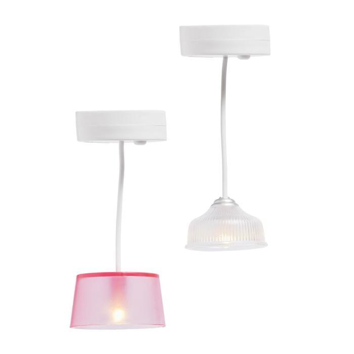 Освещение для домика, потолочные люстры, 2 шт