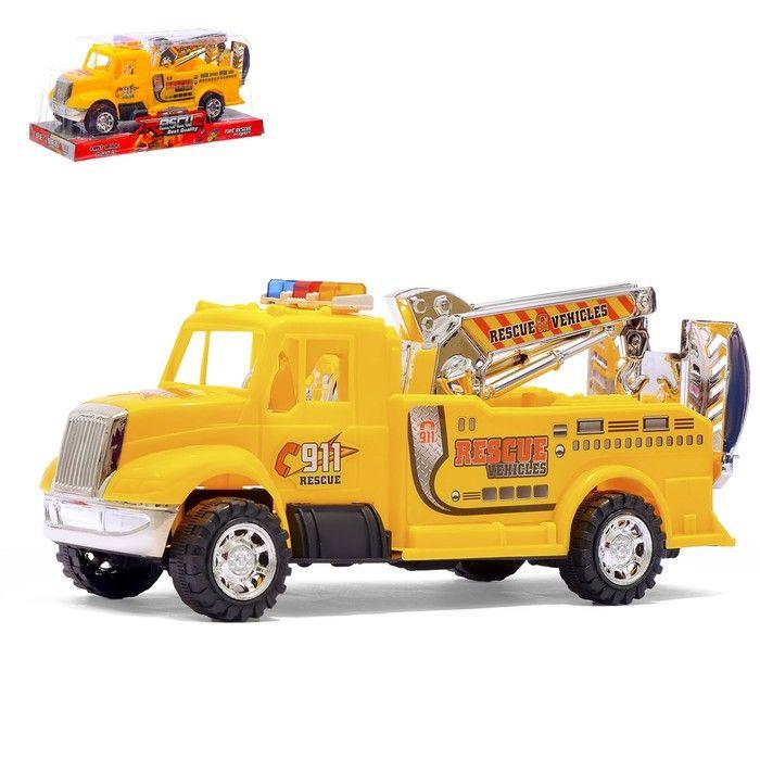 Машина инерционная «Пожарная команда», цвета в ассортименте