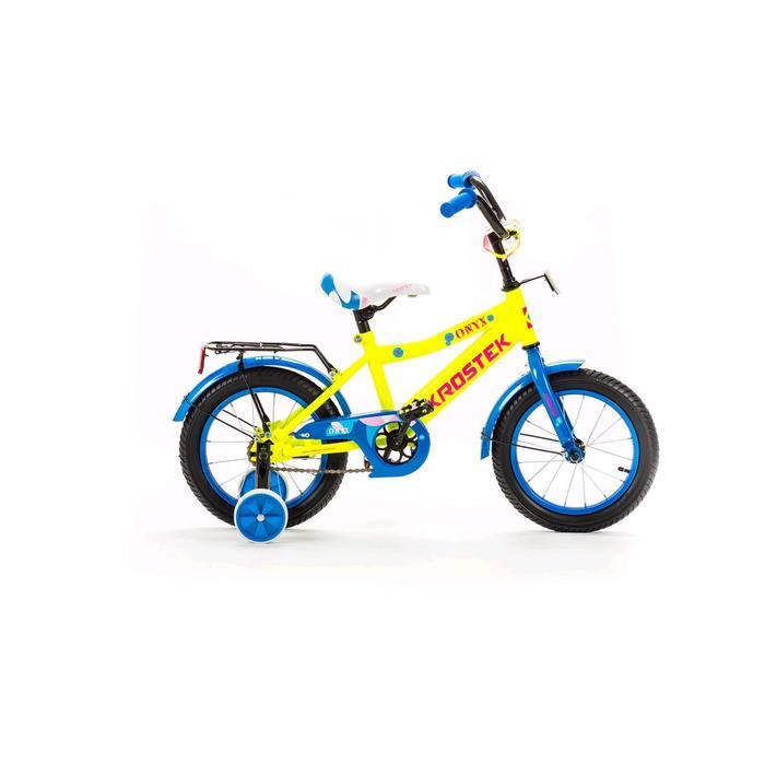 """Велосипед 14"""" KROSTEK ONYX BOY"""