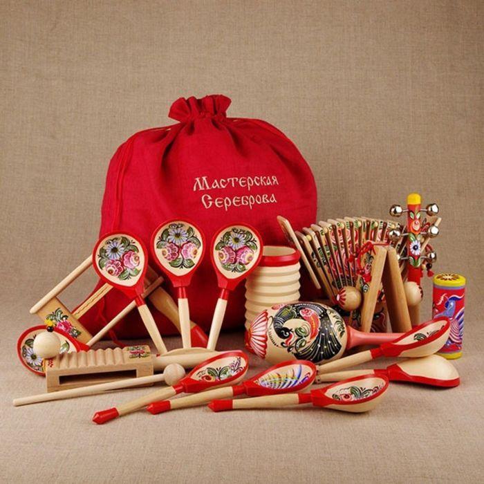 Комплект инструментов Мастерская Сереброва «Весёлый туесок»