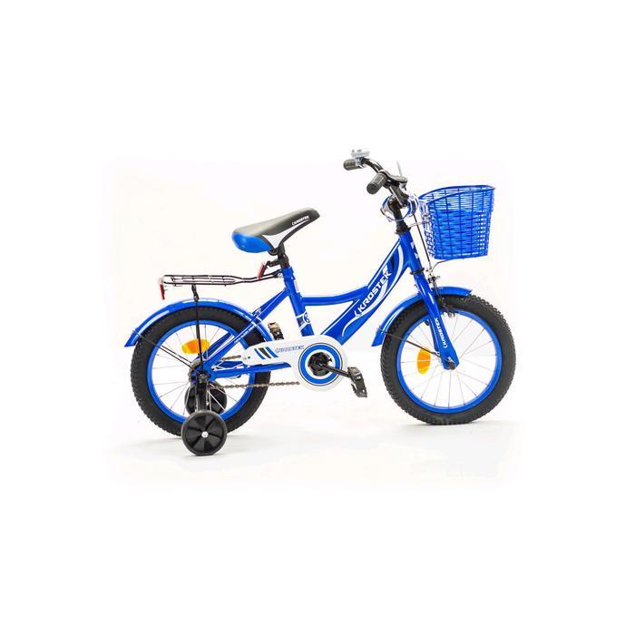 """Велосипед 14"""" KROSTEK WAKE, цвет синий"""