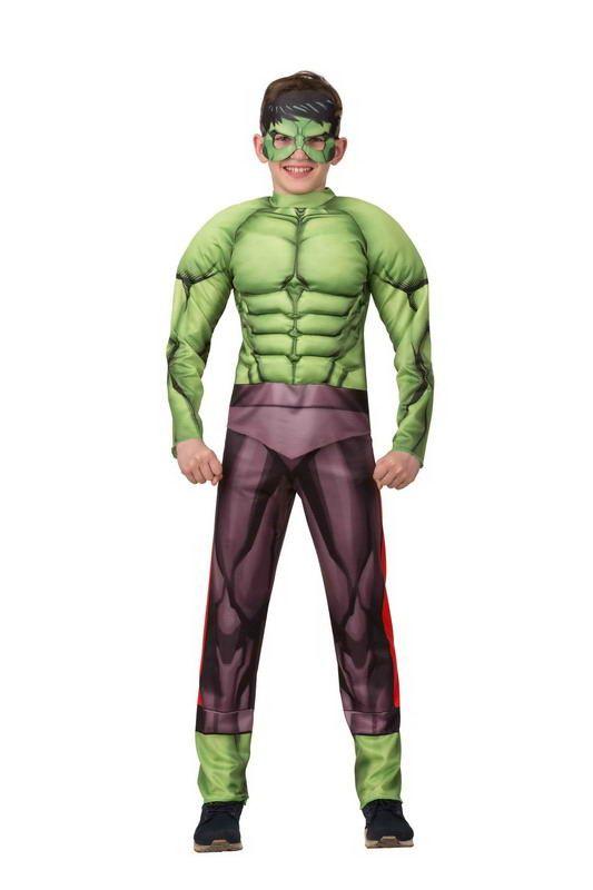 Халк. Мстители. Марвел (с мускулами) размер116-60 1907 (маскарад)