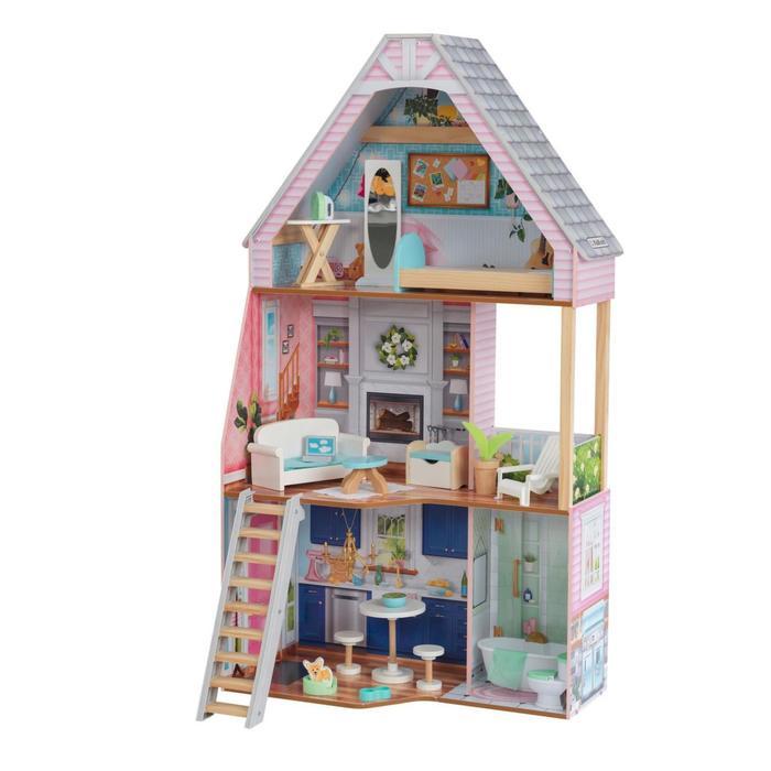 Кукольный домик «Матильда», с мебелью 20 элементов