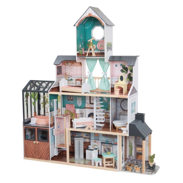Кукольный домик «Особняк Селесты», с мебелью 22 элементов