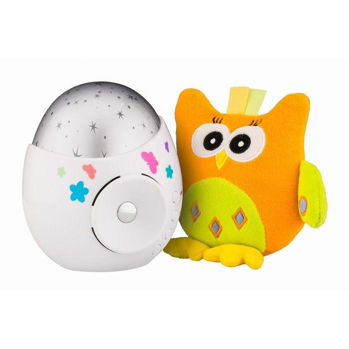 Игрушка и ночник-проектор звездного неба «Колибри»
