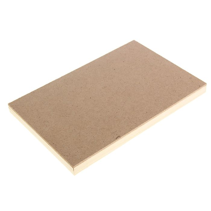 Планшет деревянный, 20 х 30 х 2 см, ДВП
