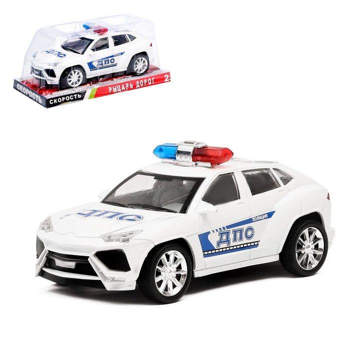 Машина инерционная «Полицейский джип», в ассортименте