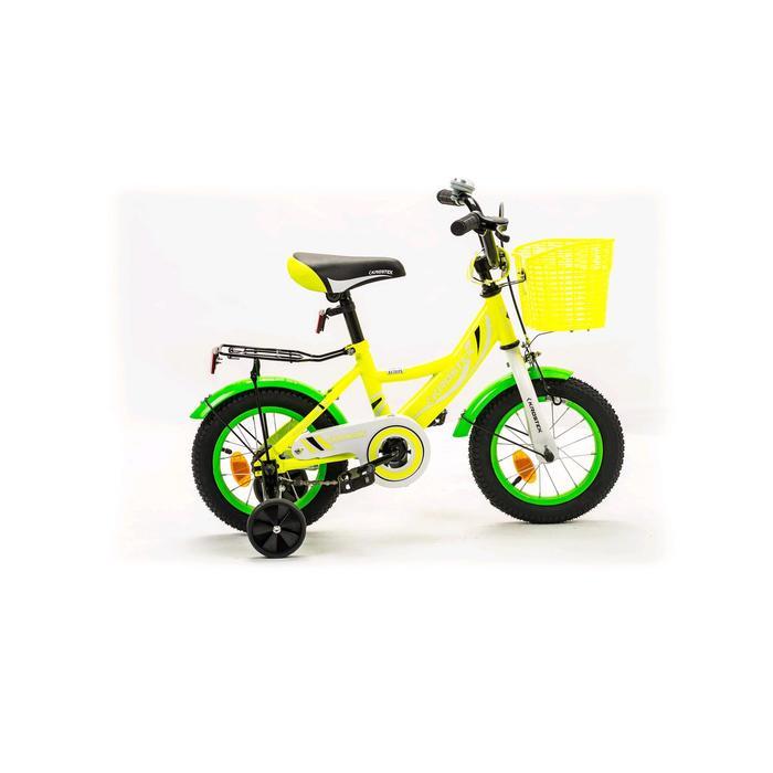 "Велосипед 12"" KROSTEK WAKE, цвет желтый"