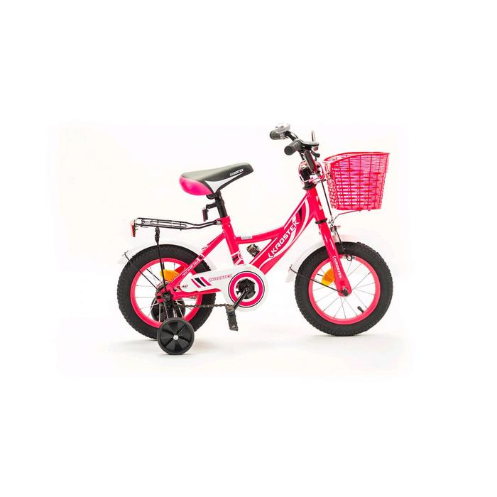 "Велосипед 12"" KROSTEK WAKE, цвет розовый"