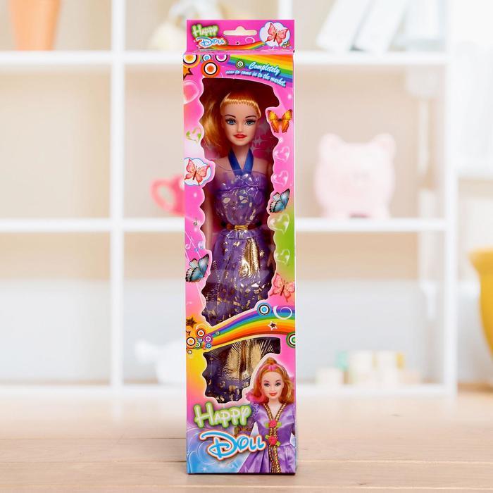 Кукла модель «Оля» в платье, в ассортименте