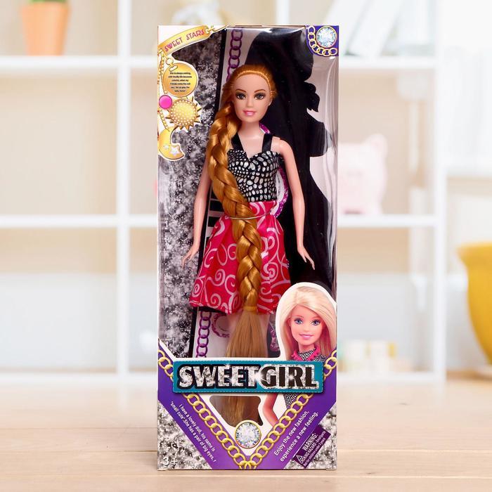 Кукла модель «Вера» в платье, в ассортименте