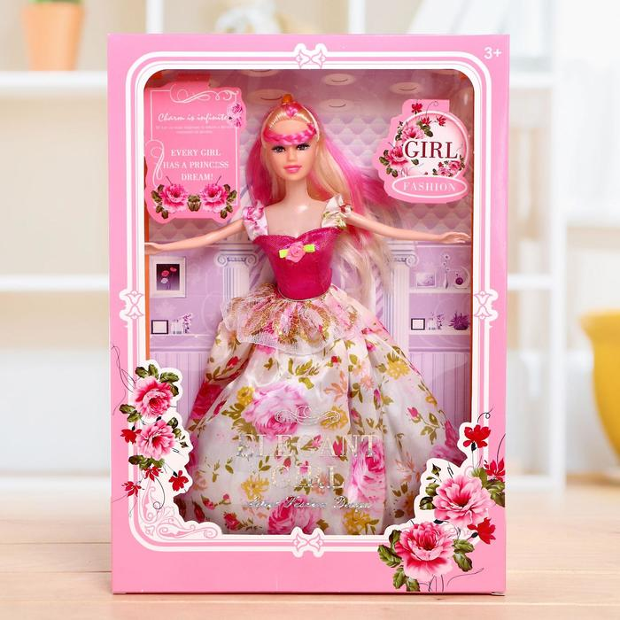 Кукла модель «Лора» в платье