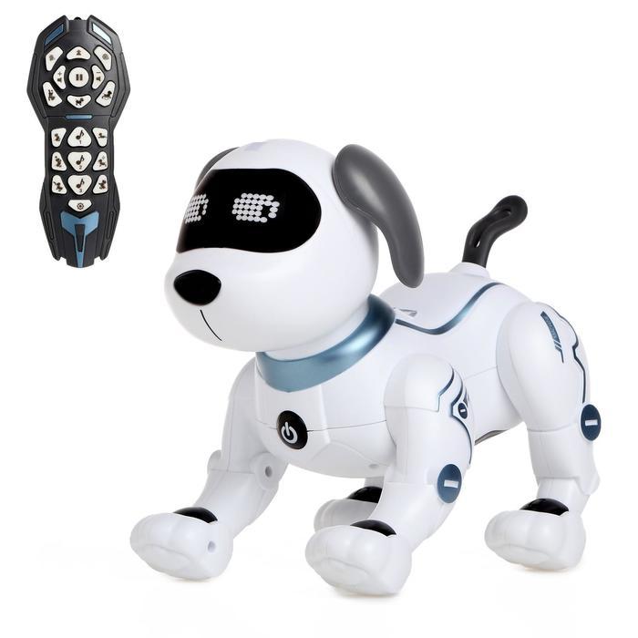 Робот-собака радиоуправляемый «Пёс», световые и звуковые эффекты, работает от батареек
