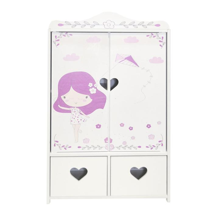 Шкаф для кукол серия «Пьемонт», Адриана мини