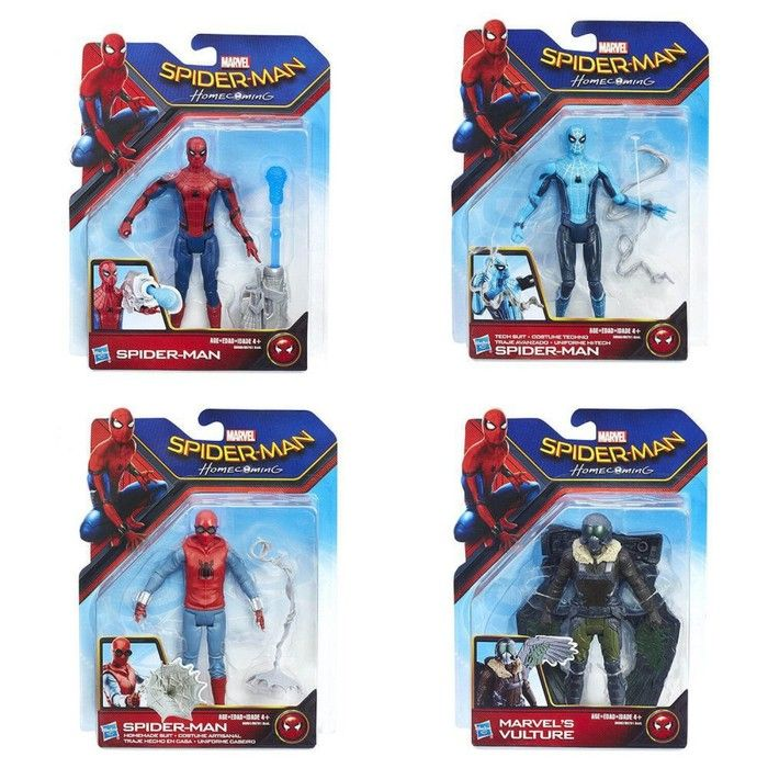 Фигурка Spider-man «Паутинный город», 15 см, МИКС