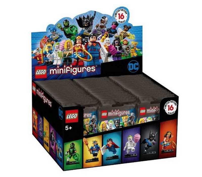 Конструктор LEGO Minifigures DC Super Heroes Series, 5+
