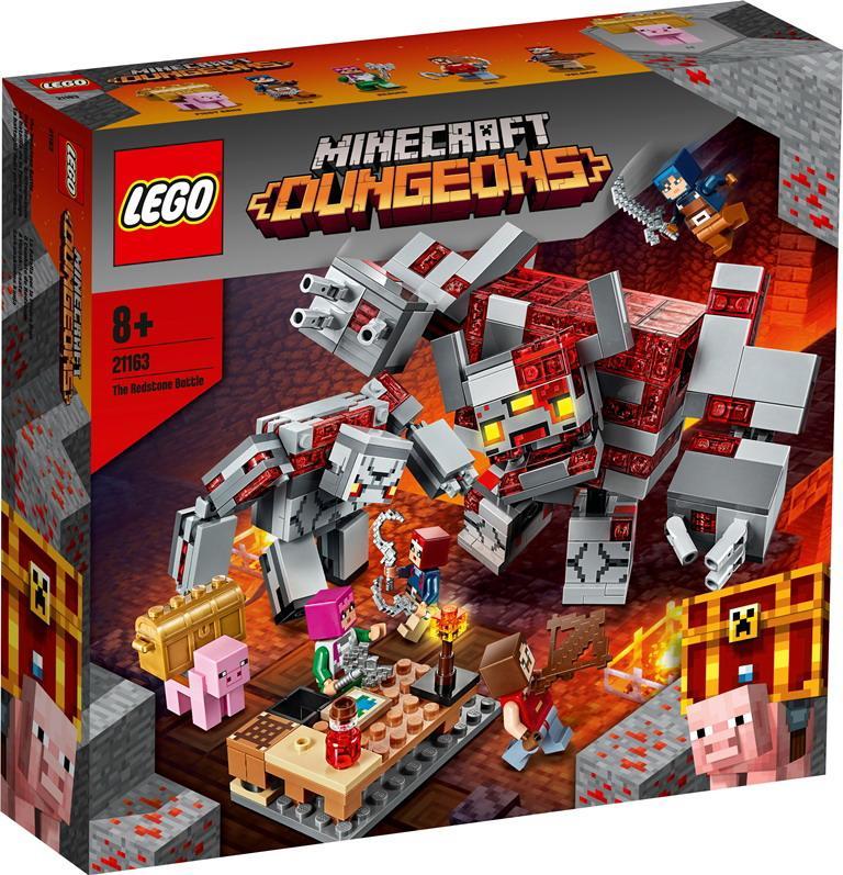 """Конструктор LEGO Minecraft """"Битва за красную пыль"""", 402 детали, 8+"""