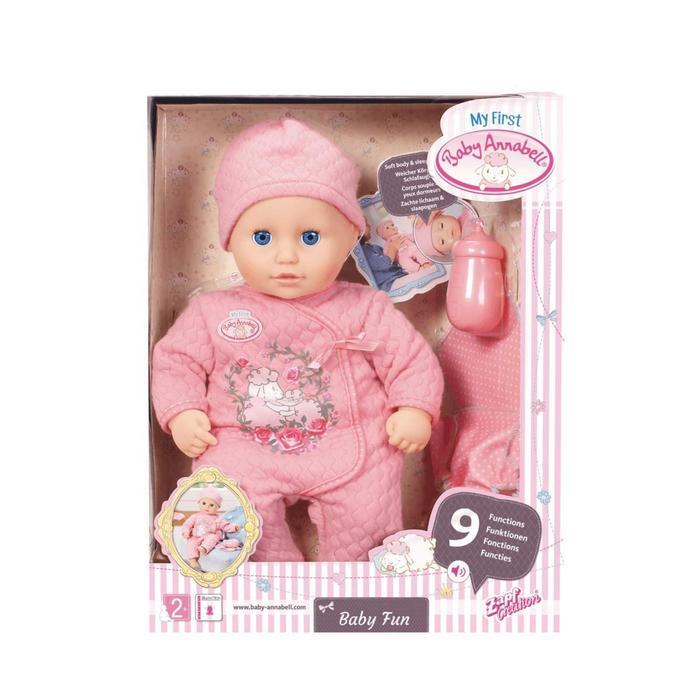 Кукла Baby Annabell Веселая малышка», 36 см, многофункциональная