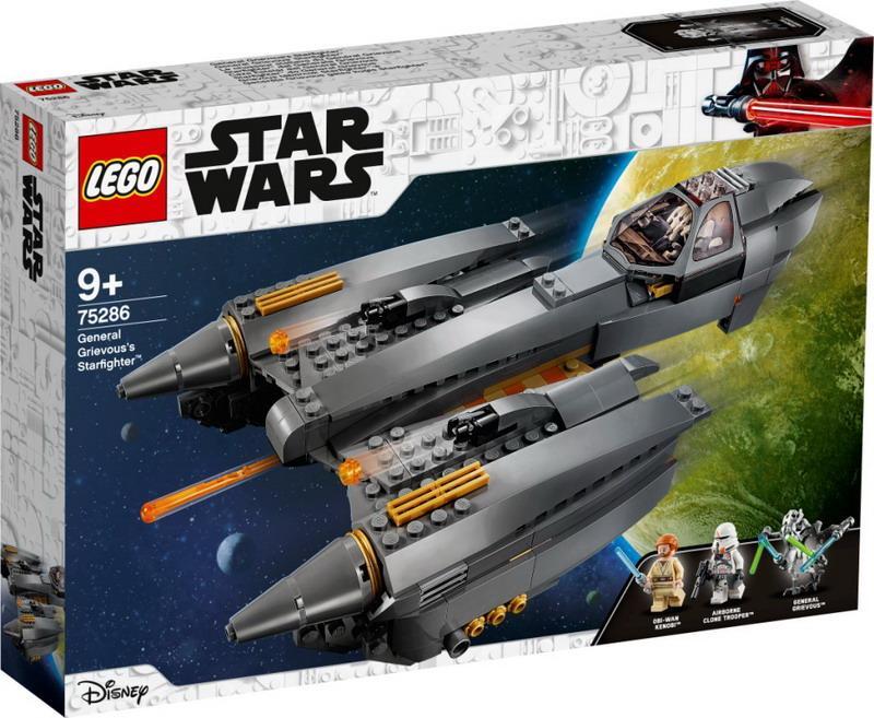 """Конструктор LEGO Star Wars """"Звёздный истребитель генерала Гривуса"""""""