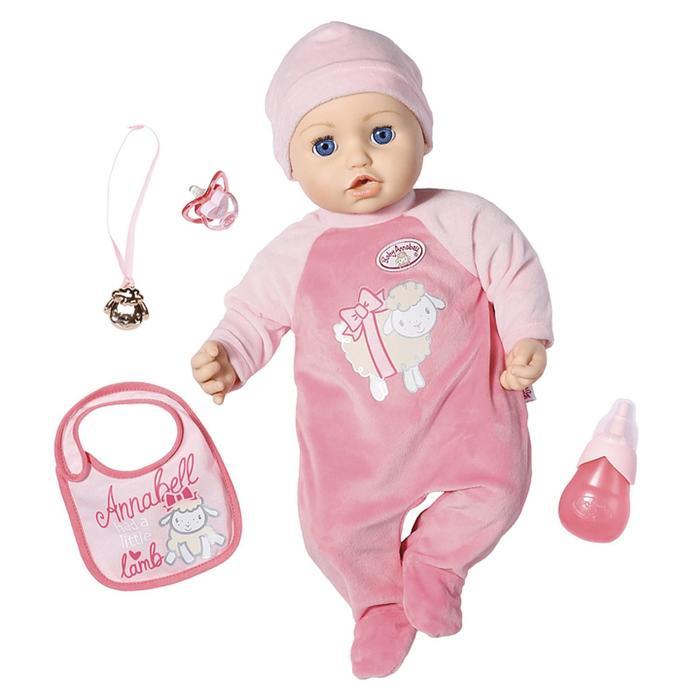 Кукла Baby Annabell, 43 см, многофункциональная