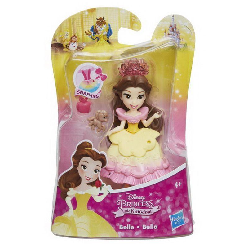 Игровой набор Disney Princess (Белоснежка, Золушка, Аврора, Белль, Жасмин), фигурка и аксессуары, 7.5 см