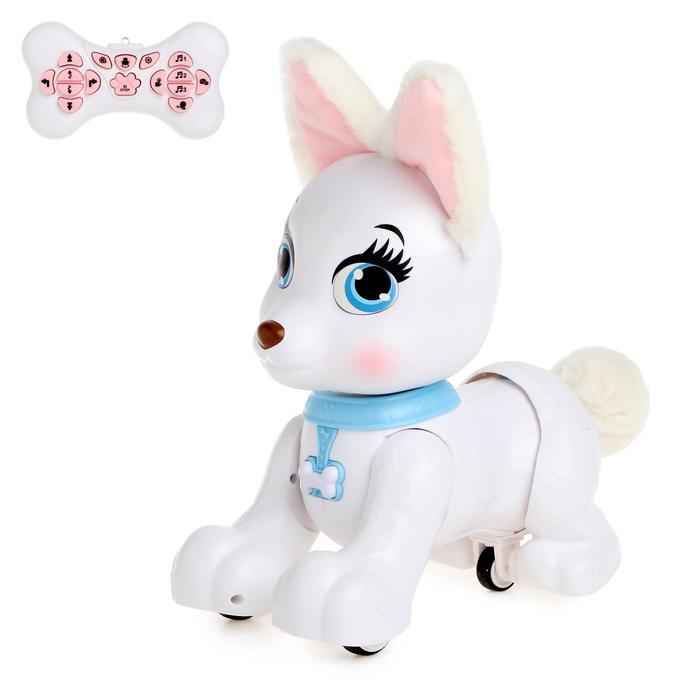 Робот-собака радиоуправляемый «Милый пёсик», световые и звуковые эффекты