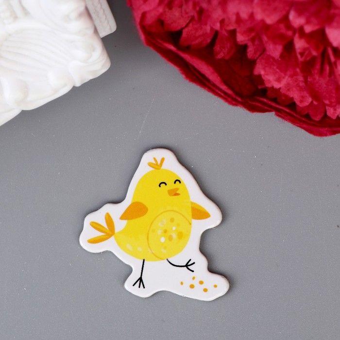 """Чипборд для скрапбукинга """"Цыплята - Счастливой Пасхи!"""" 10х10 см"""