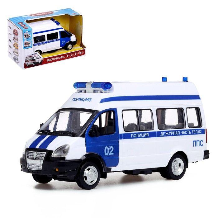 Машина инерционная «Полиция», масштаб 1:29, световые и звуковые эффекты