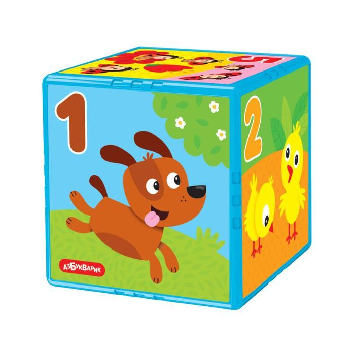 Развивающая игрушка говорящий кубик «Весёлый счет», Азбукварик