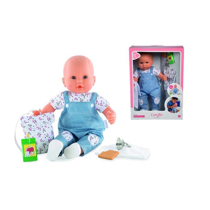 Кукла в наборе Corolle «Малышка идет в детский сад с ароматом ванили», 5 акс., 36 см