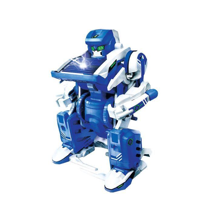 Конструктор «Робот» 3 в 1, работает от солнечной батареи, в пакете