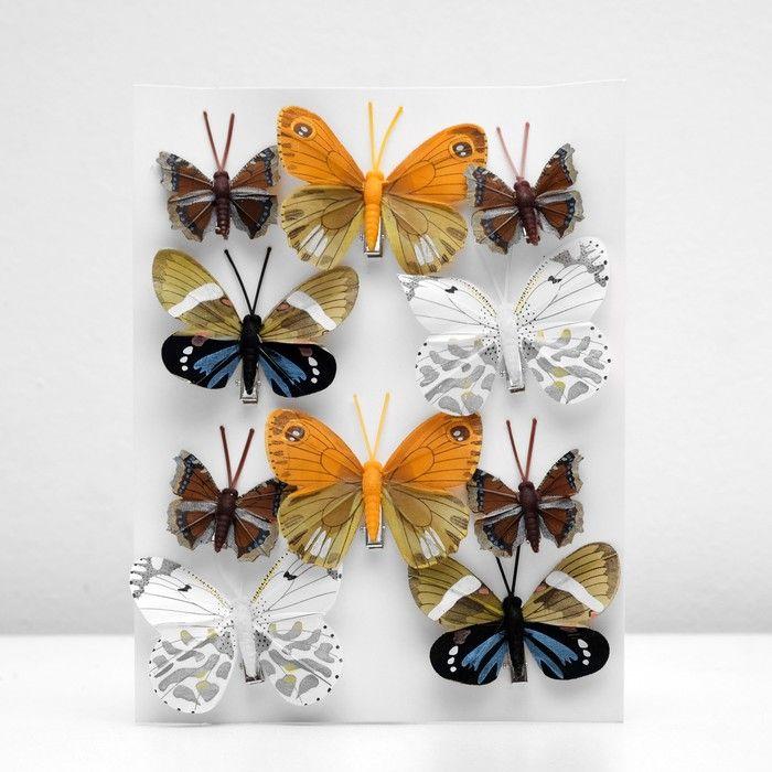Декор бабочка в ассортименте